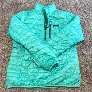 Women's Patagonia Puffer 1/2 Zip Pullover Small